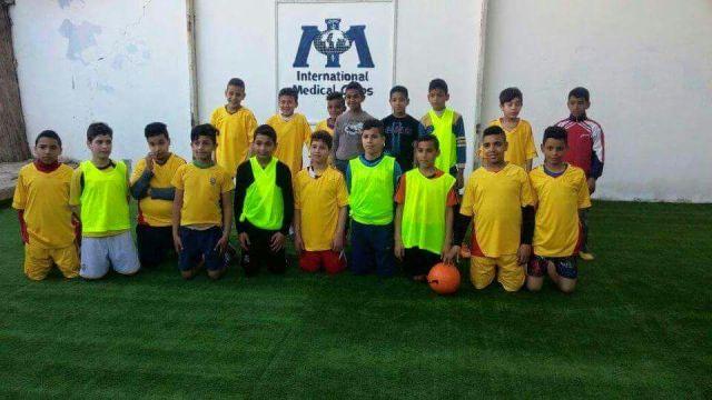 إعادة تأهيل ملعب نادي القدس