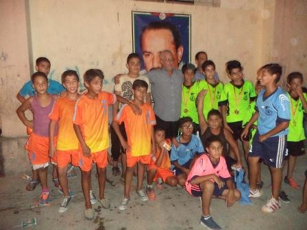 الشبيبة الفلسطينية: دورة في كرة القدم في مخيم عين الحلوة