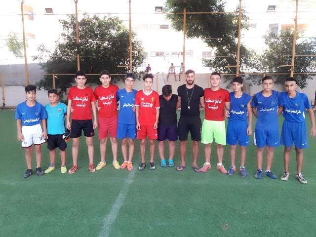 منظمة الشبيبة الفلسطينية تختتم دورة كرة قدم للناشئين