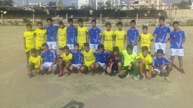 انطلاق دورة الشهيد غسان كنفاني في كرة القدم للناشئين على ارض ملعب الاصلاح - البرج الشمالي