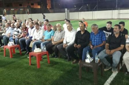 نادي النجمة الرياضي اللبناني يفتتح مجمع الربيع الرياضي في مخيم نهر البارد