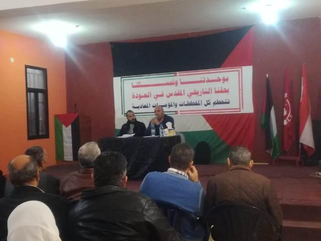 ثوابتة : معاناة لشعب الفلسطيني في لبنان تستوجب العاجل لرفع الغبن الواقع عليهم