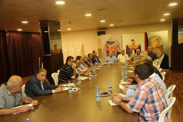 بيان صادر عن القيادة السياسية الفلسطينية في لبنان
