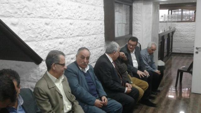 السفارة الفلسطينية في دمشق أقامت مجلس عزاء للشاعر أحمد دحبور