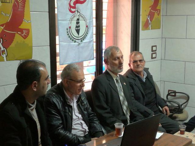 ندوة تحت عنوان التربية السياسية خلف القضبان وداخل سجون الاحتلال