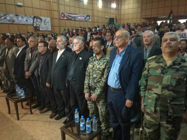 مهرجان تضامني مع الأسرى الفلسطينيين في سوريا
