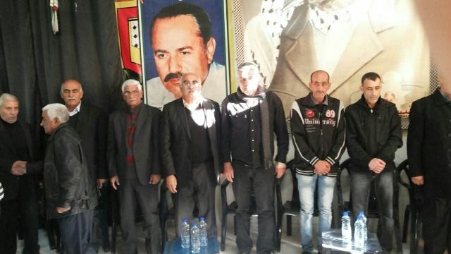 الجبهة الشعبية لتحرير فلسطين وآل الجنداوي يؤبنان المناضل الحاج ابو حسين الجنداوي