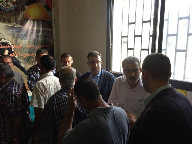 تأبين حاشد للقائد الوطني حسن نمر فرحات في مخيم الرشيدية .