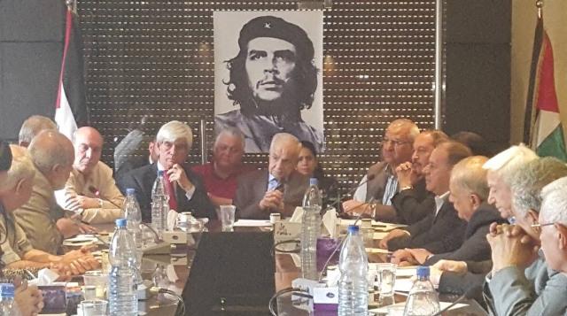 لقاء في المجلس الوطني الفلسطيني بدمشق