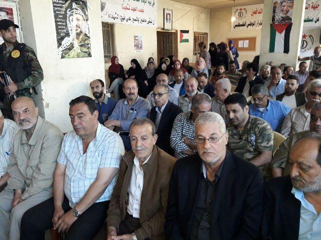 جبهة التحرير الفلسطينية تنظم لقاء تضاميًا مع الأسرى والمعتقلين