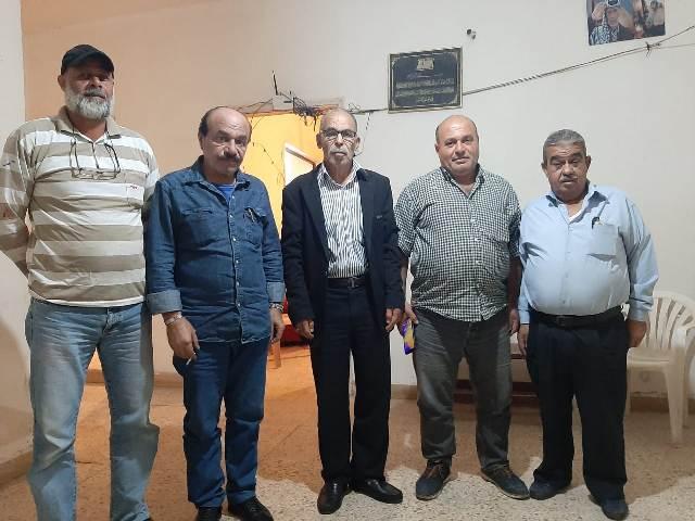 اللجان العمالية الشعبية الفلسطينية في صيدا تزور المكتب العمالي لجبهة التحرير العربية