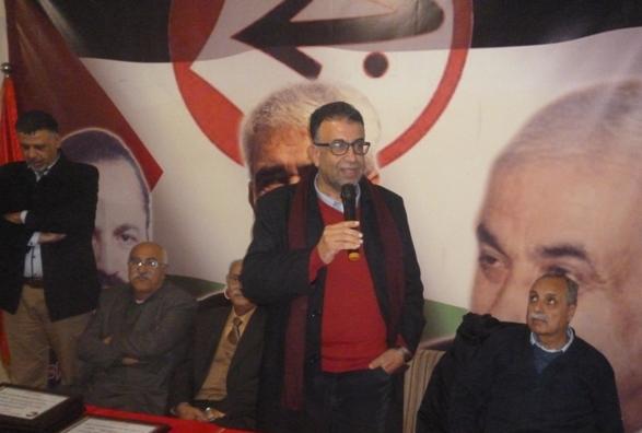 عبد العال خلال تكريم عدد من الرفاق:  التكريم هو محاولة لإثارة الحوافز والروح الإيجابية عند الجميع