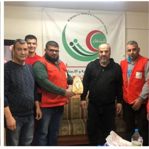الجبهة الشعبية لتحرير فلسطين  في شاتيلا تكرم أحلام لاجئ