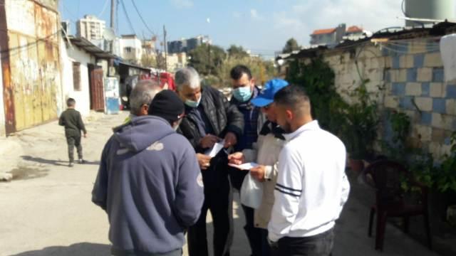 اللجان الشعبية في الشمال تزور حي التنك في مدينة الميناء طرابلس