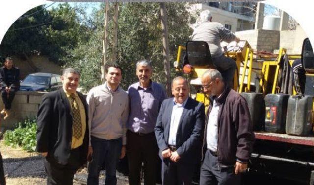 بالتعاون مع اللجان الشعبية الUNDP  تنهي مشروعا للصرف الصحي بتزفيت شارع أبو بكر في نهرالبارد