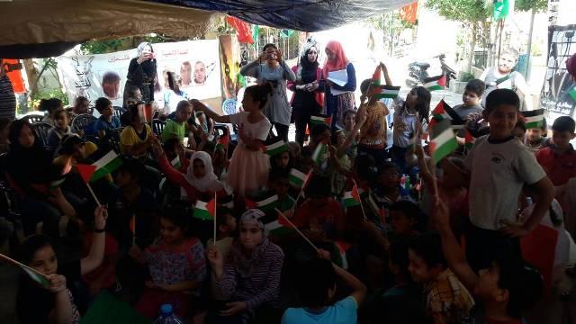 مركز التضامن الاجتماعي- نواة يحيى أسبوع ذكرى النكبة التاسعة والستين