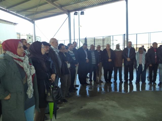 وقفة تضامنية مع القدس في مخيم عين الحلوة