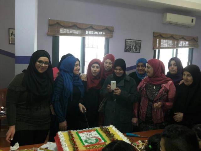 مركزالتضامن الاجتماعي- نواة يحتفل بيوم المرأة وعيد الأم
