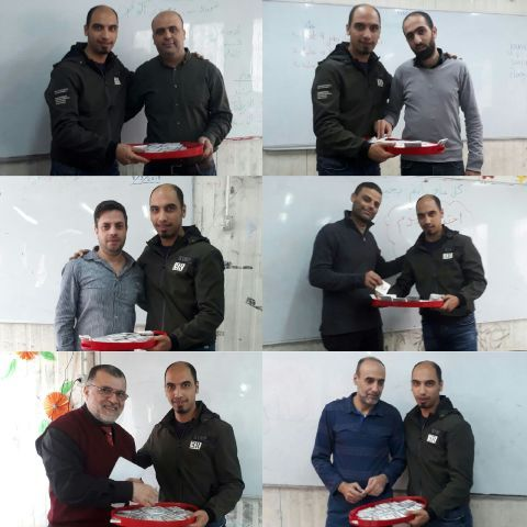 منظمة المعلمين الفلسطينيين في الشمال تهنئ المعلم في عيده