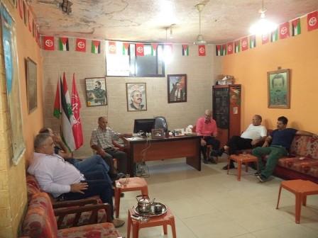 الشعبية في صيدا تستقبل وفدًا من الجبهة الديمقراطية لتحرير فلسطين