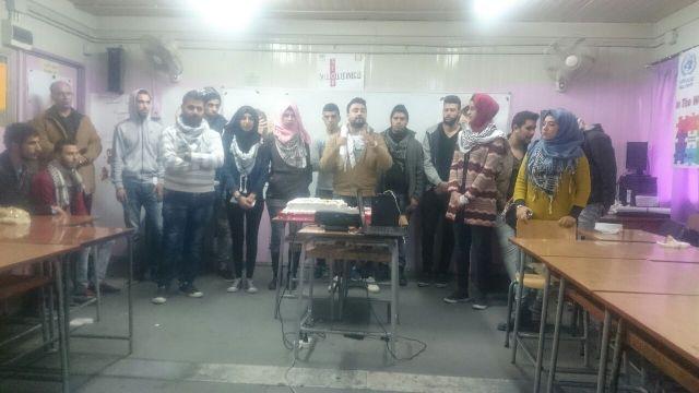 منظمة الشبيبة الفلسطينة في البارد تزور المدارس ضمن حملة المقاطعة ضد منتجات الشركات الداعمة للكيان الصهيوني