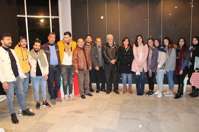 المكتب الطلابي في صيدا ومنظمة الشبية الفلسطينية يقيمان ندوة حول دور الطالب في العمل السياسي