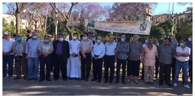 الشباب الوطني نفذ وقفة تضامنية مع القضية الفلسطينية في طرابلس