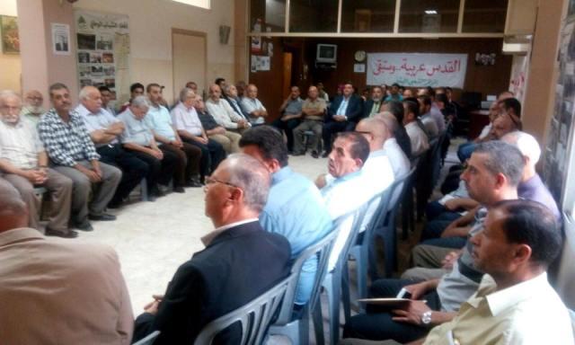 المؤتمر الشعبي اللبناني: لقاء تضامني مع فلسطين في طرابلس