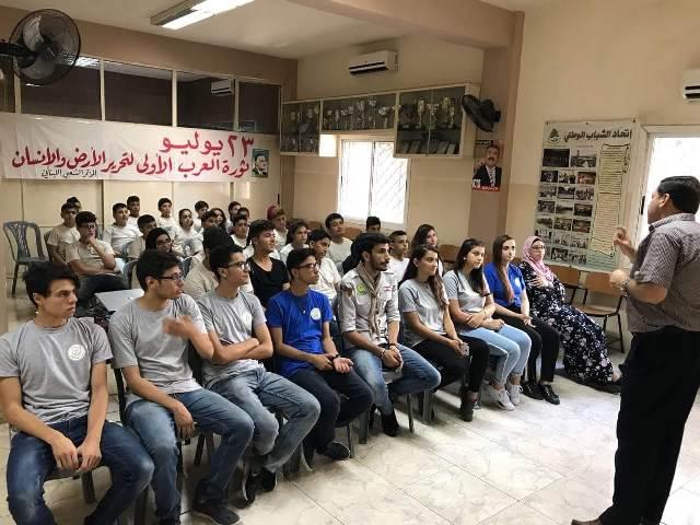 محاضرة في طرابلس عن ثورة ٢٣ تموز الناصرية بعنوان عبد الناصر رمز الحلم العربي- محمد سيف