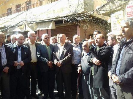 اعتصام في مخيم البداوي احتجاجا على تقليص الاونروا خدماتها