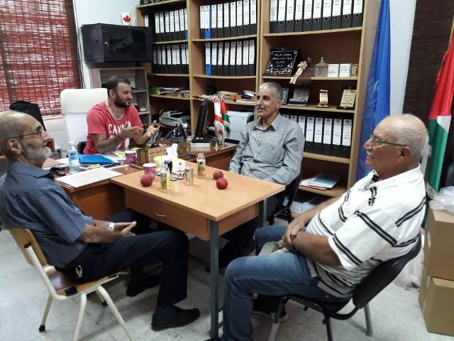 اللجان الشعبية تزور مدرسة رفح في مدينة الميناء طرابلس
