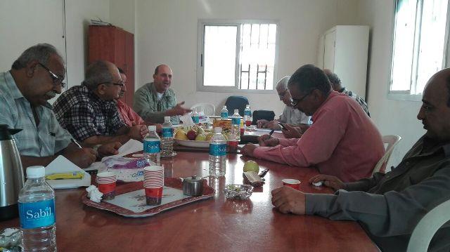 لقاء جمع قيادتي الجبهتين الشعبية والديمقراطية لتحرير فلسطين في الشمال