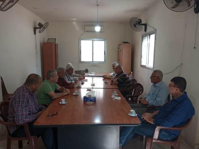 اللجنة الشعبية الفلسطينية تقدم واجب التعازي للجبهة الشعبية في الشمال