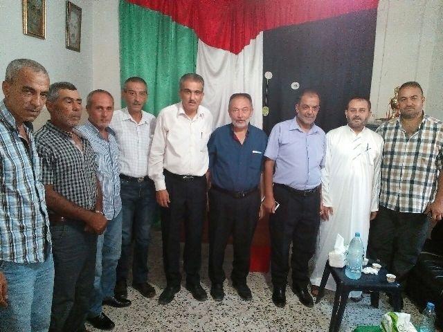الشعبية في الرشيدية تستقبل وفدا من حركة حماس .