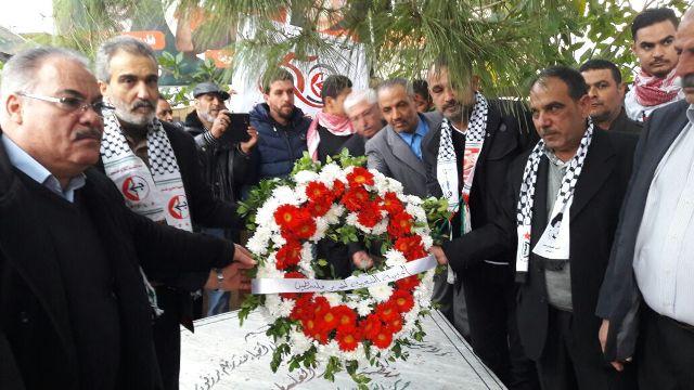 الجبهة الشعبية في صور تحيي ذكرى انطلاقتها الـ 50 بمسيرة جماهيرية غاضبة تأكيدا على عروبة القدس .