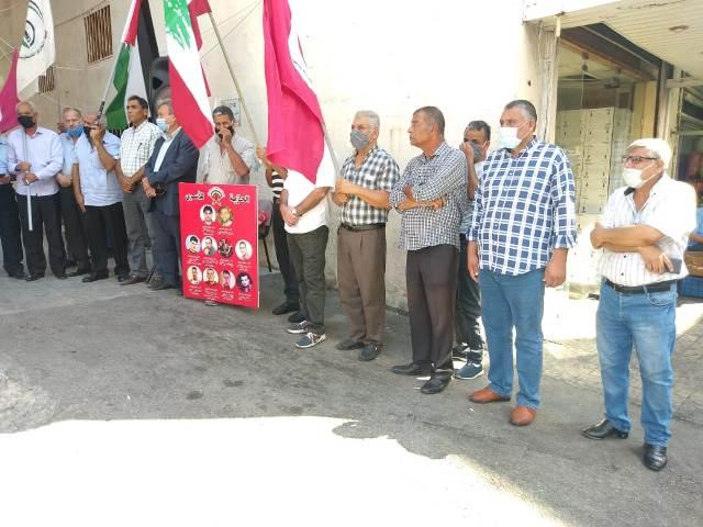 الشعبية تشارك في اعتصام التضامن مع الأسير ماهر الأخرس ورفاقه في خميس الأسرى (222)