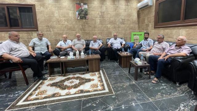 هيئة العمل الفلسطيني المشترك في منطقة صور تستعرض آخر التطورات