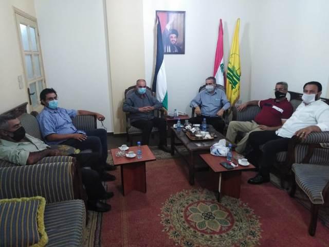حزب الله والجبهة الشعبية في منطقة صور: العلاقة الفلسطينية اللبنانية ركيزة أساسية من ركائز الفعل المقاوم