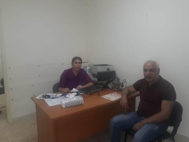 الجبهة الشعبية لتحرير فلسطين تلتقي مديرة خدمات مخيمي شاتيلا ومارالياس في الاونروا