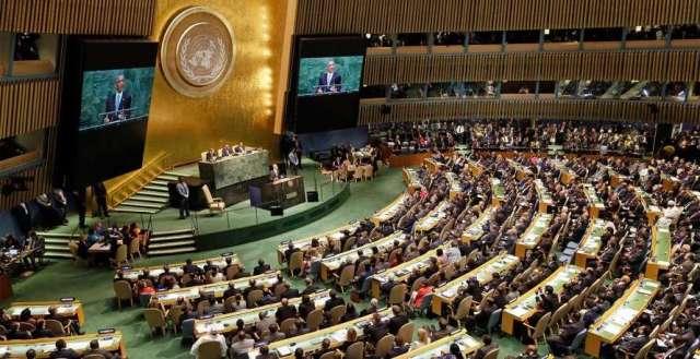 الجمعية العامة تصوت بالأغلبية لصالح مشروع توفير الحماية لشعبنا