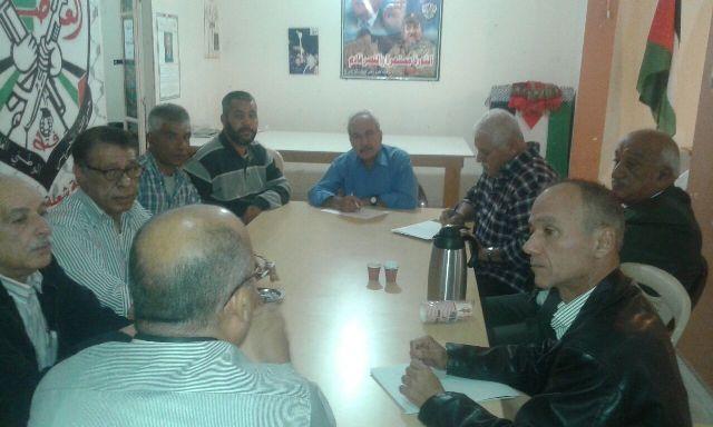 لقاء بين الشعبية وفتح في منطقة إقليم الخروب