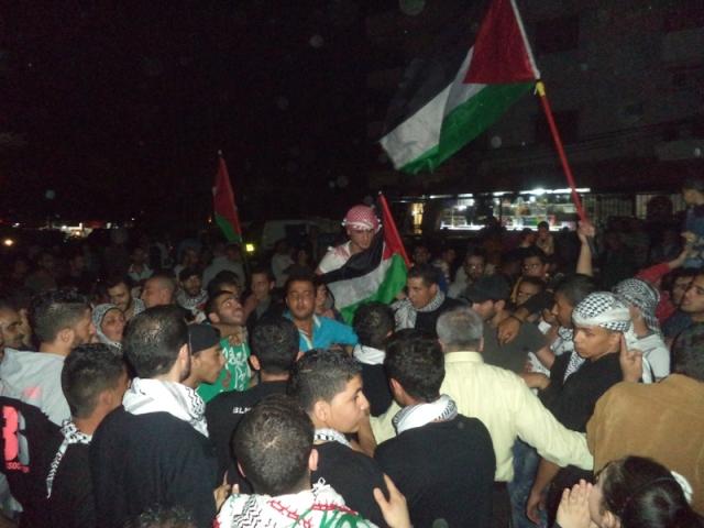 وقفة تضامنية مع مخيم اليرموك في منطقة وادي الزينة