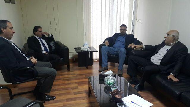 لقاء قيادتي الحزب التقدمي الاشتراكي والجبهة الشعبية لتحرير فلسطين