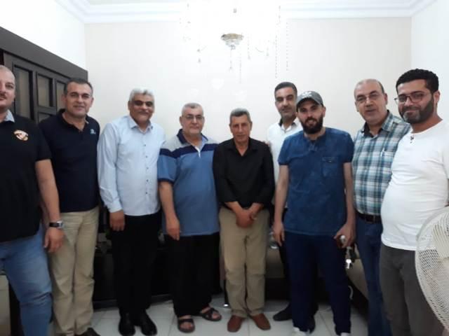 لجنة العمل النقابي للجبهة الشعبية لتحرير فلسطين تلتقي وفدًا من اللقاء التشاوري