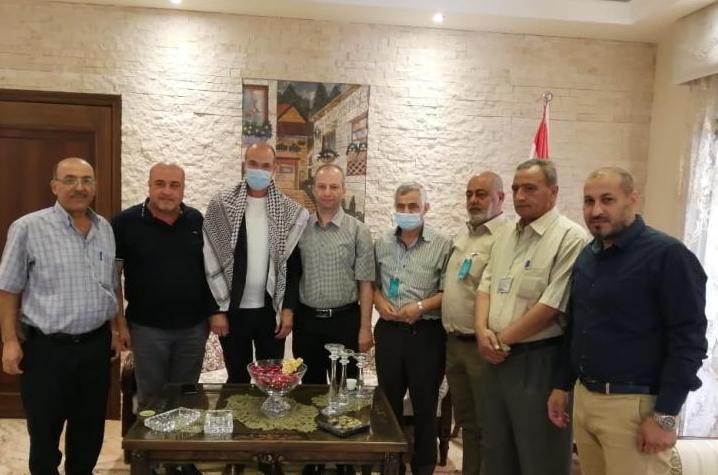 وفد من فصائل المقاومة الفلسطينية في بعلبك يلتقي وزير الصحة اللبناني