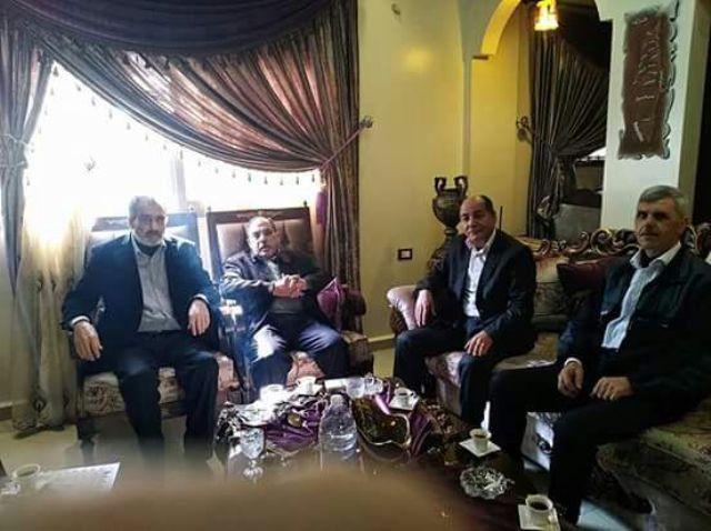مراد يستقبل وفودًا سياسية واجتماعية في منزله