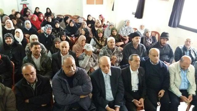 الاتحاد العام للمرأة الفلسطينية و المؤسسات النسوية الاجتماعية في البارد تحتفي بيوم المرأة