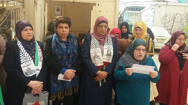 الاتحاد العام للمرأة الفلسطينية أقام وقف تضامنية في نهر البارد بذكرى يوم المرأة العالمي