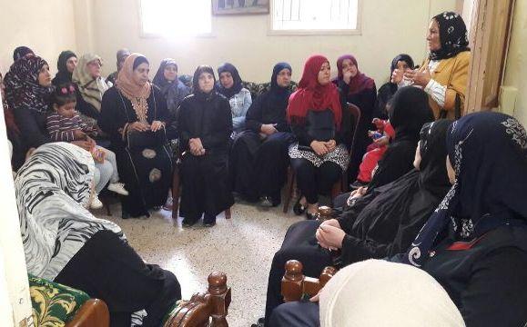 لجان المرأة الشعبية الفلسطينية ومؤسسة نبع تقيمان ندوة حول المخدرات
