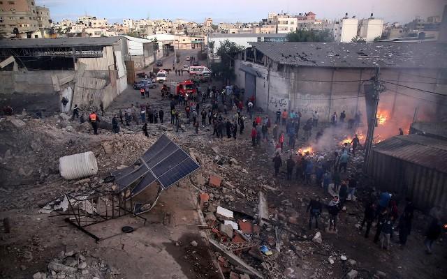 المقاومة بغزّة تدرس توسيع دائرة الردّ إذا استمرّ العدوان الصهيوني
